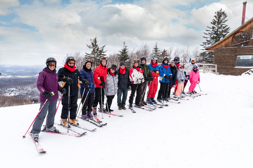 Ski for a cure